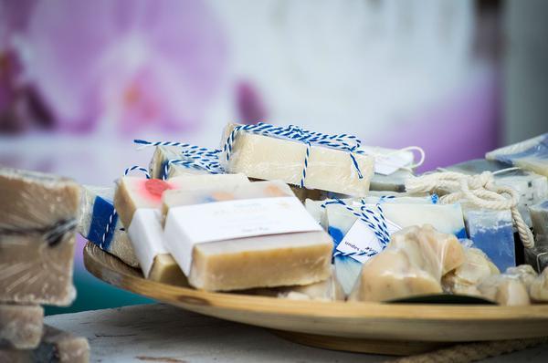 Ręcznie robione mydło jako idealny prezent