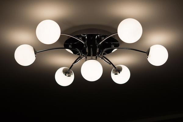 Lampa typu biała kula