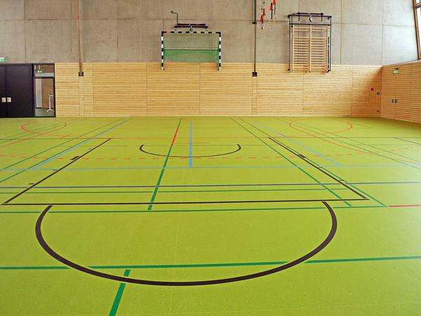 Ciekawy przykład podłogi sportowej